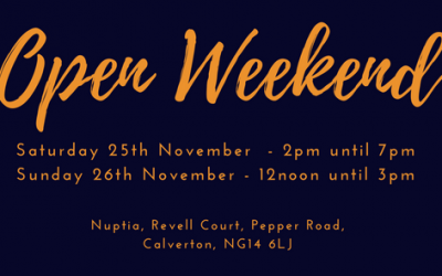 Open Weekend!