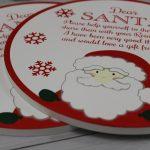 Santa Plate Christmas Eve