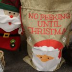 Christmas Santa Sack and Stocking